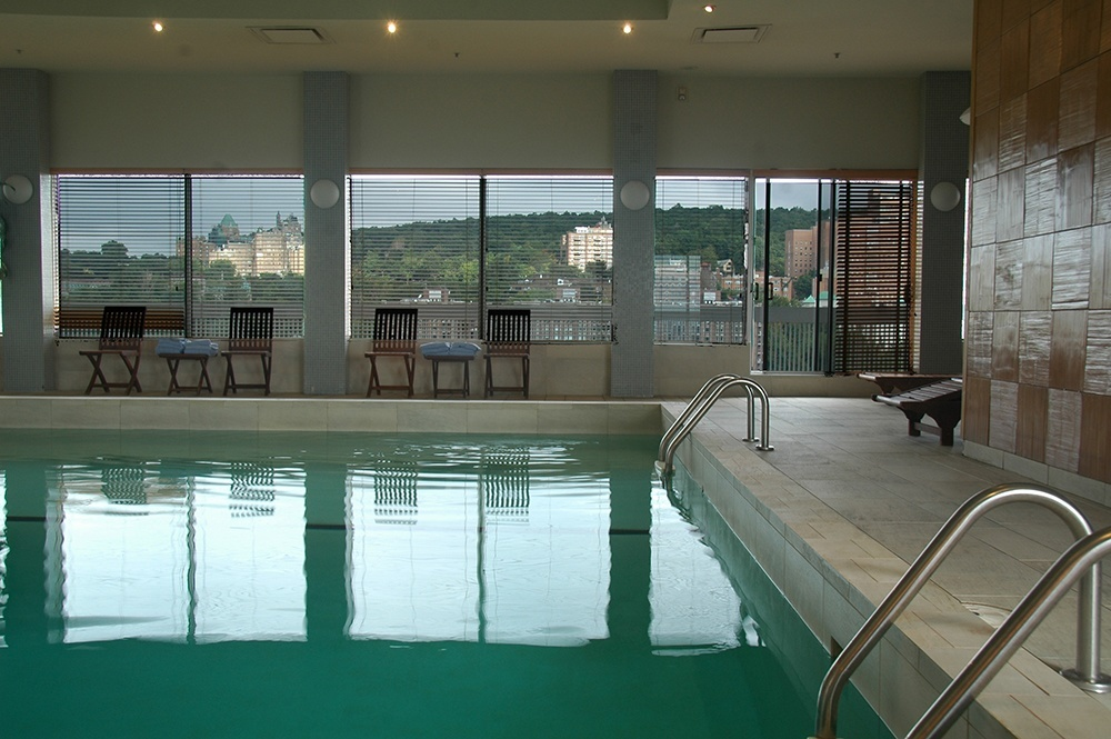 Swimming pool at the Penthouse Level