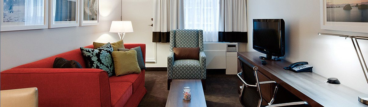Hotel Suites designed like appartments